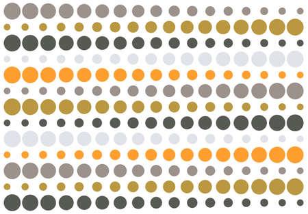 halftone retro striped pattern illustration