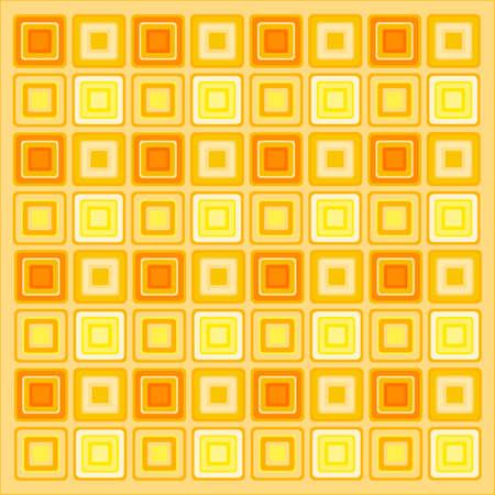 70s retro pattern background wallpaper Vector