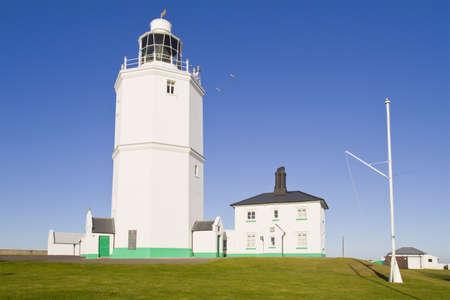 North Foreland lighthouse, kent, UK photo