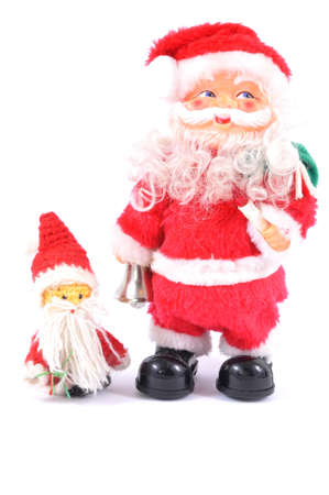 Santa Claus toy Stock Photo