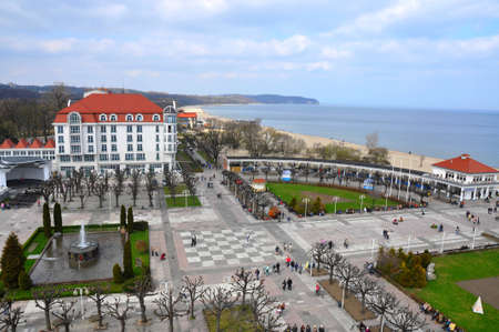 coastal city of Sopot
