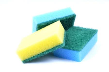 Kitchen sponge, mop