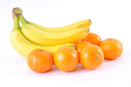 bananas and tangerines