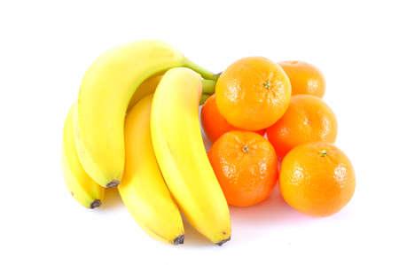 bananas and tangerines