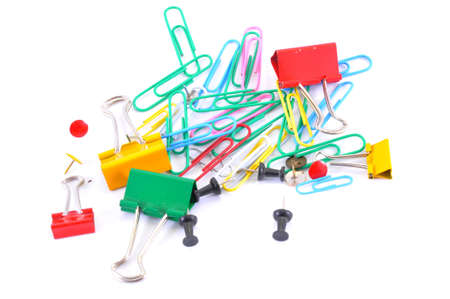 paperclip, pushpin, office photo