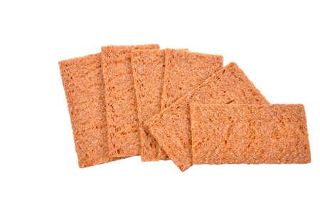 Rye crisp bread wheat