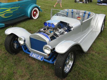 Blue Ratrod Stock Photo - 19415069