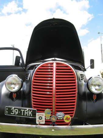 Matte Black Streetrod Stock Photo - 19415061