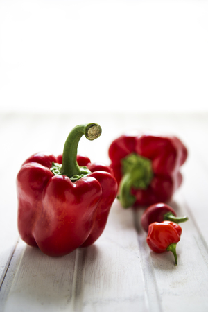red peppers: red peppers