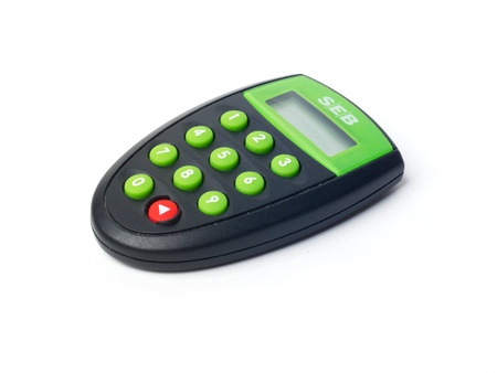 security token: A token for logging on to the online bank SEB for positive identification of the customer.