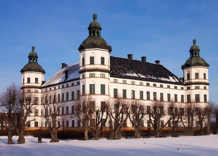 Skokloster palace  in Sweden was built in 1654, 1676 by the count and field marshal Carl Gustaf Wrangel. Today the castle is owned by the State. Stock Photo - 15054960