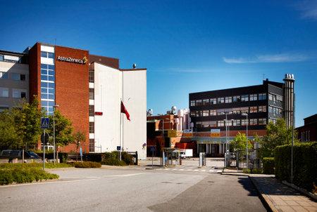 manufactor: AstraZeneca, Sodertalje, Sweden Editorial