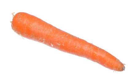 antics: Carrot isolated on white background.   Stock Photo