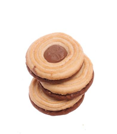 sandwiche: Stacked sandwich biscuits