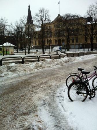 karlstad: Winter in Karlstad Sweden Stock Photo