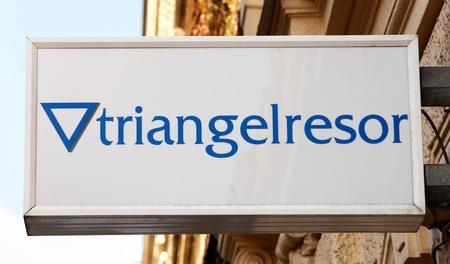reiseb�ro: Schwedische Reiseb�ro Triangelresor, Lizenzfreie Bilder