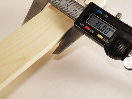 marquetry: precision measurement of wood