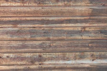 Фон в стиле деревенский из старых горизонтальных деревянных досок Фото со стока