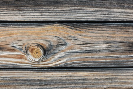 Background in style a rustic from old horizontal wooden boards close up