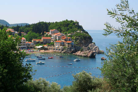 Old town in the bay, Montenegro photo