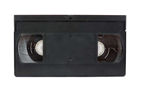 Video tape on white background Stock Photo - 16019472