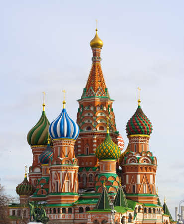Cathedral on the Red Square, Moscow Stock Photo - 16024159