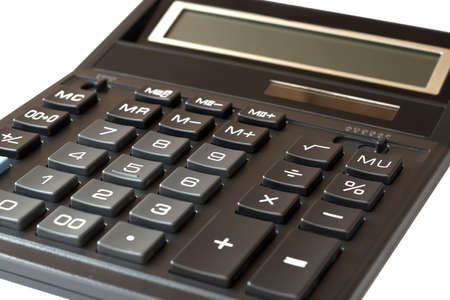Calculator isolated on white background Stock Photo - 16028992
