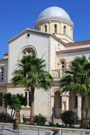 limassol: Ancient cathedral in Limassol, Cyprus
