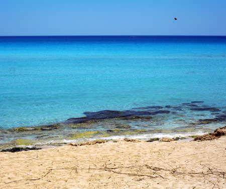 Beautiful beach of the island Cyprus