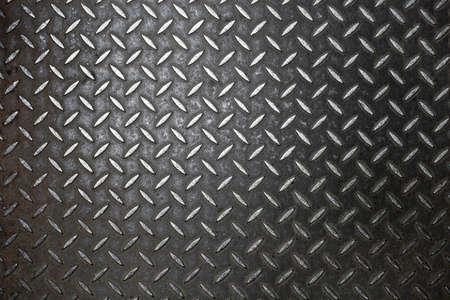 Roestige stalen diamond plaat textuur