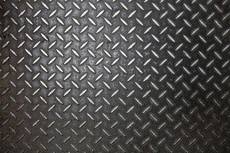 metallic grunge: Rusty steel diamond plate texture