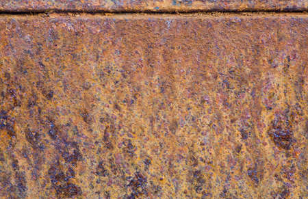 Rostig metall