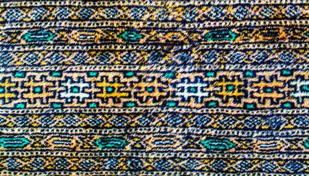 Färgglada persisk matta med vackra mönster