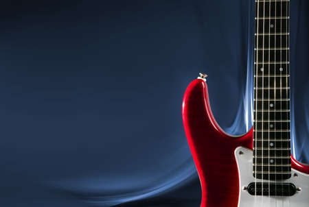 color image creativity: Design Of Guitar