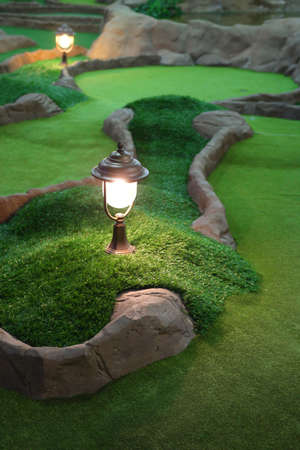 Mini golf park  photo