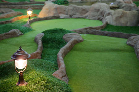 miniatures: Mini golf park