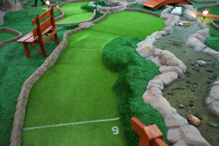 Mini golf park  Stock Photo - 6596334