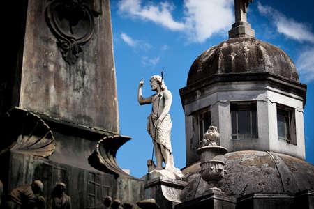 Historic cemetery Recoleta Buenos Aires Argentine