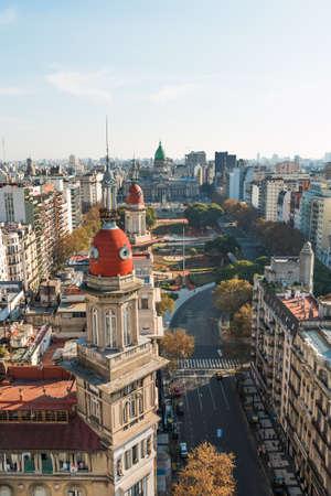 Congreso de la Nacion Argentina in Buenos Aires Argentina Standard-Bild