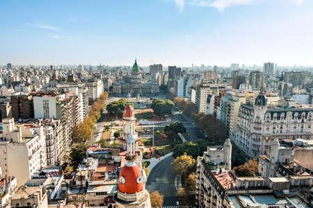 Congreso de la Nacion Argentina in Buenos Aires Argentina Zdjęcie Seryjne