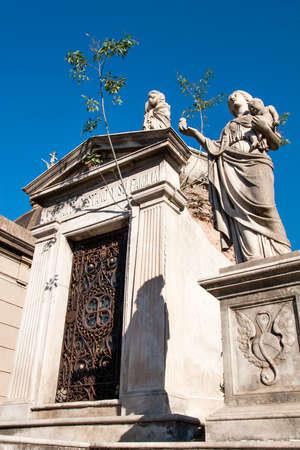 Historische begraafplaats Recoleta, Buenos Aires Argentinië Stockfoto