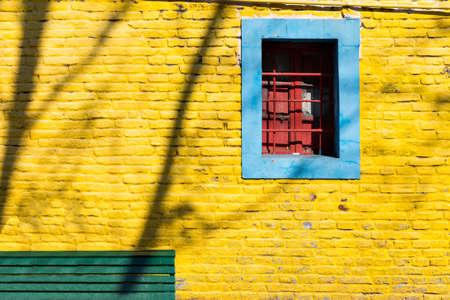 la boca: Colorful neighborhood La Boca, Buenos Aires Argentina
