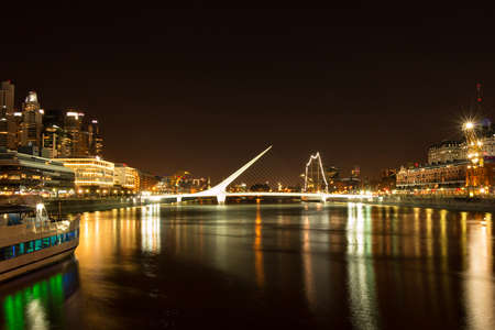 business traveller: Puerto Madero modern and historic part of the town of Buenos Aires Argentina Stock Photo
