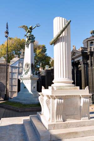 argentine: Historic cemetery Recoleta, Buenos Aires Argentine Editorial