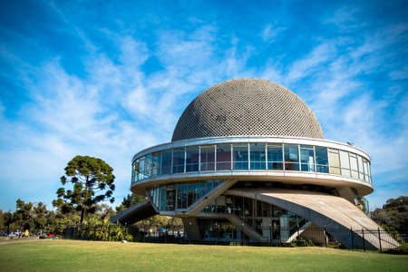 Galileo Galilei Planetarium in Buenos Aires Argentina, in the Palermo district