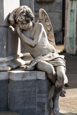 evita: Historic cemetery Recoleta, Buenos Aires Argentine Stock Photo