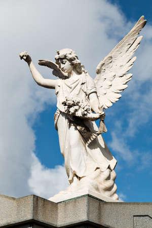 argentine: Historic cemetery Recoleta, Buenos Aires Argentine Stock Photo