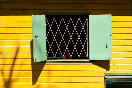 la boca: Colorful neighborhood La Boca, Buenos Aires Argentine Stock Photo