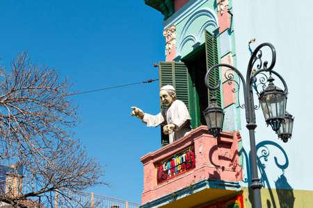 historically: Colorful neighborhood La Boca, Buenos Aires Argentine Editorial