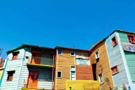 la boca: Colorful neighborhood La Boca, Buenos Aires Argentine Editorial